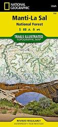 Manti La Sal National Forest by National Geographic Maps