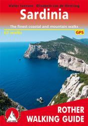 Sardinia, Rother Walking Guide by Rother Walking Guide, Bergverlag Rudolf Rother