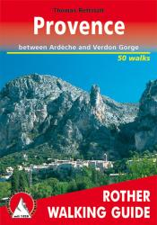 Provence, Walking Guide by Rother Walking Guide