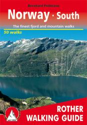 Norway, South, Walking Guide by Rother Walking Guide, Bergverlag Rudolf Rother