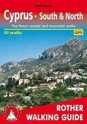 Cyprus, South and North, Walking Guide by Rother Walking Guide, Bergverlag Rudolf Rother