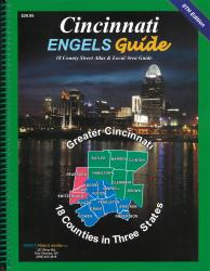 Cincinnati, Ohio, Atlas by Engels Guide