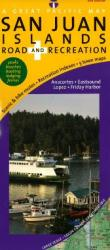 San Juan Islands, Road and Recreation by Great Pacific Recreation & Travel Maps