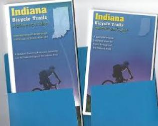 Indiana Trails Map and Guide Set by American Bike Trails