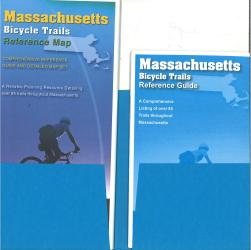 Massachusetts Trail Reference Map & Guide Set by American Bike Trails