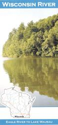 Wisconsin River Fishing Map by Wilderness Adventures Press