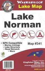 Norman Waterproof Lake Map by Kingfisher Maps, Inc.