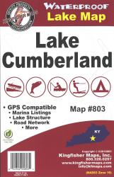 Cumberland Waterproof Lake Map by Kingfisher Maps, Inc.