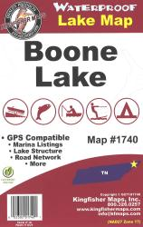 Boone Waterproof Lake Map by Kingfisher Maps, Inc.