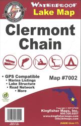 Clermont Chain Waterproof Lake Map by Kingfisher Maps, Inc.