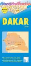 Dakar, Senegal City Map by Editions Laure Kane