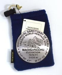 Machu Picchu, Peru benchmark paperweight by Geo-Situ