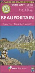 Alps 1:50,000 Hiking Map Sheet A2 - Beaufortain with Albertvielle, Bourg-Saint-Maurice by Rando Editions