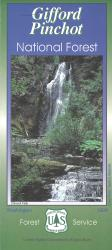 Gifford Pinchot National Forest Map by United States Forest Service