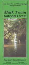 Mark Twain National Forest: Houston, Rolla, and Ceder Creek Ranger Districts by United States Forest Service