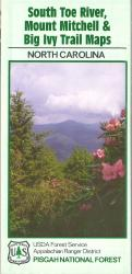 Pisgah National River: South Toe River, Mount Mitchell, & Big Ivy Trail Maps by United States Forest Service