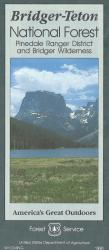 Bridger-Teton National Forest: Pinedale Ranger District and Bridger Wilderness by United States Forest Service