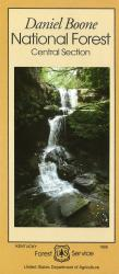 Daniel Boone National Forest Central Section Map by United States Forest Service