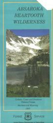 Absaroka Beartooth Wilderness Map by United States Forest Service