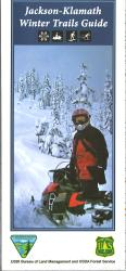 Jackson-Klamath Winter Trails Guide Map by United States Forest Service