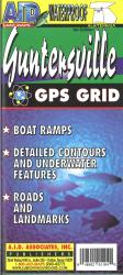 Guntersville Fishing Map by A.I.D. Associates