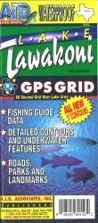 Lake Tawakoni Fishing Map by A.I.D. Associates