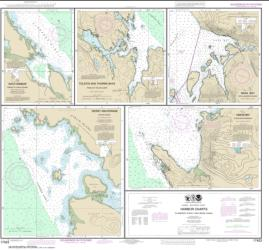 Harbor Charts-Clarence Strait and Behm Canal Dewey Anchorage, Etolin Island;Ratz Harbor, Prince of Wales Island;Naha Bay, Revillagigedo Island;Tolstoi and Thorne Bays, Prince of Wales ls.;Union Bay, Cleveland Peninsula (17423-15) by NOAA