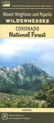 Mount Wrightson and Pajarita Wildernesses - Coronado National Forest Map by United States Forest Service