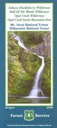 Bull of the Woods & Salmon Huckleberry Hiking Map by