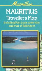 Mauritius Traveller's Map by Macmillan