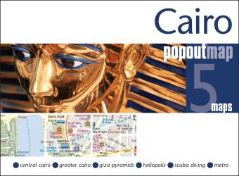 Cairo, Egypt, PopOut Map by PopOut Products, Compass Maps Ltd.