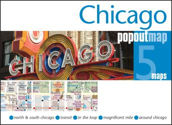 Chicago, Illinois, PopOut Map by PopOut Products, Compass Maps Ltd.