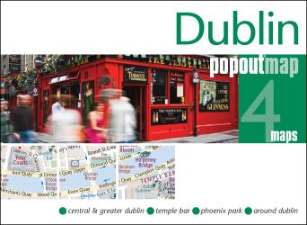 Dublin, Ireland, PopOut Map by PopOut Products, Compass Maps Ltd.