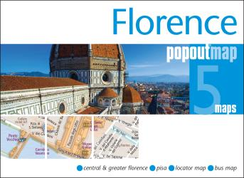 Florence, Italy, PopOut Map by PopOut Products