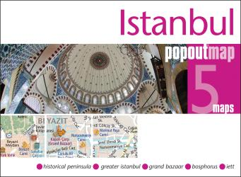 Istanbul, Turkey, PopOut Map by PopOut Products