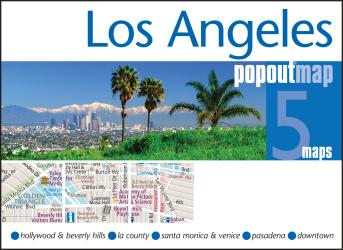 Los Angeles, California, PopOut Map by PopOut Products, Compass Maps Ltd.