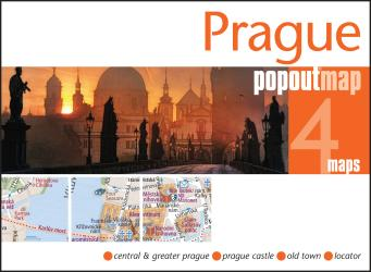 Prague, Czech Republic, PopOut Map by PopOut Products/Compass Maps Ltd