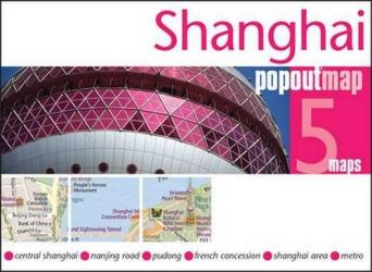 Shanghai, China, PopOut Map by PopOut Products