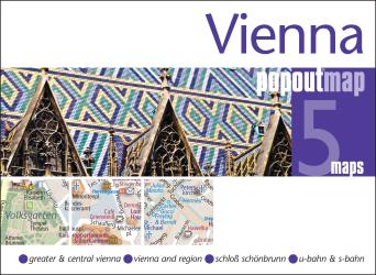 Vienna, Austria, PopOut Map by PopOut Products
