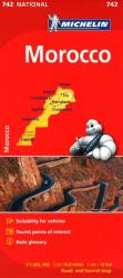 Morocco (742) by Michelin Maps and Guides