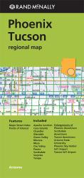 Phoenix and Tuscon, Arizona Regional by Rand McNally