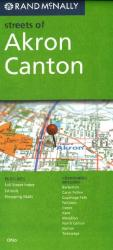 Akron and Canton, Ohio by Rand McNally