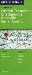 Chattanooga, Knoxville, and Sevier County, Tennessee by Rand McNally
