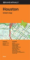 Houston, Texas, Street Map by Rand McNally