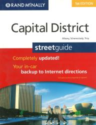 Capital District: Albany, Schenectady and Troy, NY Street Guide (Spiral Bound) by Rand McNally