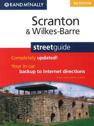 Scranton and Wilkes-Barre, PA Street Guide (Spiral Bound) by Rand McNally