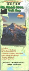 Mt. Hood Area Trail Map by Adventure Maps