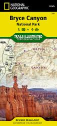 Bryce Canyon National Park, Utah, Map 219 by National Geographic Maps