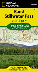 Rand and Stillwater Pass, Map 115 by National Geographic Maps