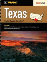 Texas, Highway Atlas by Kappa Map Group